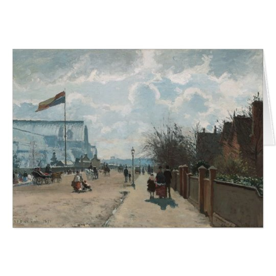 The Crystal Palace ~ Camille Pissarro Card