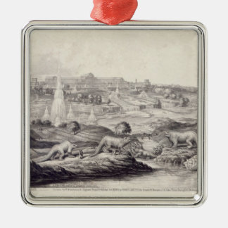 The Crystal Palace Christmas Ornament