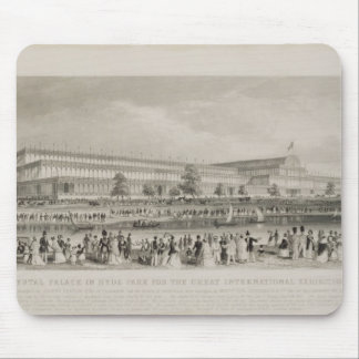 The Crystal Palace in Hyde Park for the Great Inte Mouse Mat