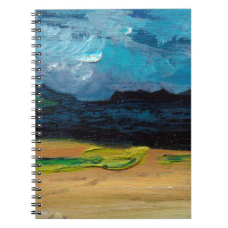 The Cuillins Isle of Skye Scotland Spiral Notebook