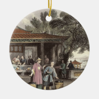 The Culture and Preparation of Tea, from 'China in Christmas Ornament