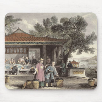 The Culture and Preparation of Tea, from 'China in Mouse Pad