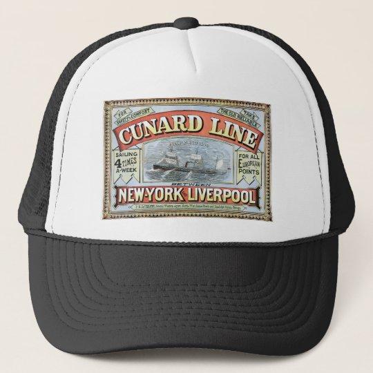 The Cunard Line Cap