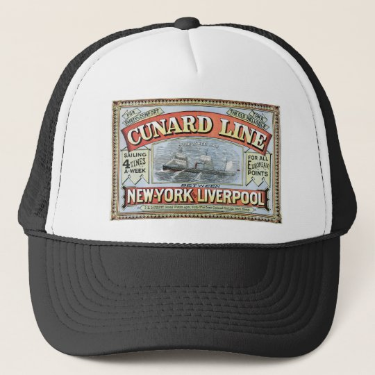 The Cunard Line Trucker Hat