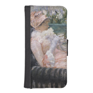 The Cup of Tea by Mary Cassatt Phone Wallet Cases