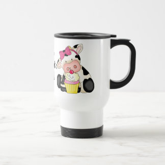 The Cupcake Kid Cow Travel mug