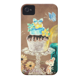 The Cupcake, the Candle, and the Mouse Case-Mate iPhone 4 Cases