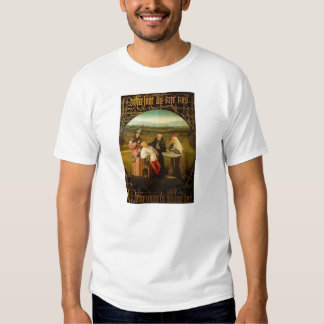 The Cure of Folly by Hieronymus Bosch Tshirt
