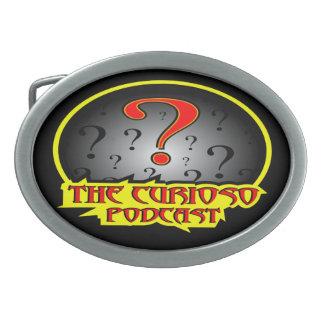 The Curioso podcast logo Beltbuckle Belt Buckle