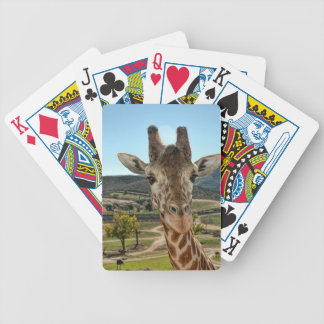 The Curious Giraffe Playing Cards
