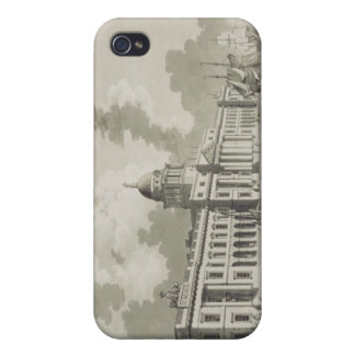 The Custom House, Dublin, 1792 (engraving) iPhone 4 Cases