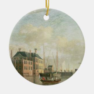 The Customs House, Amsterdam Christmas Ornament