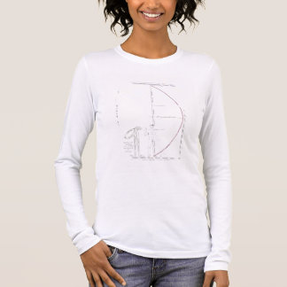 The Cut of a Toga for 'Britannicus' by Jean Racine Long Sleeve T-Shirt