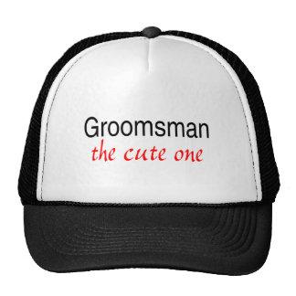 The Cute One (Groomsman) Hat