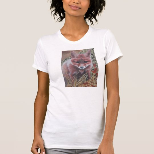 The Cute Red Fox Kit T-Shirt