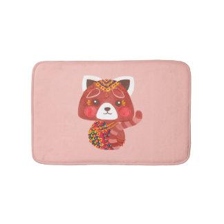 The Cute Red Panda Bath Mats