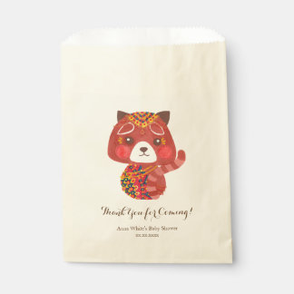 The Cute Red Panda Favour Bags