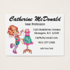 The Cute Seamstress Version 2 - SRF Business Card
