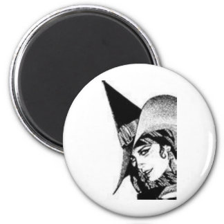 The Cute Witch Magnet