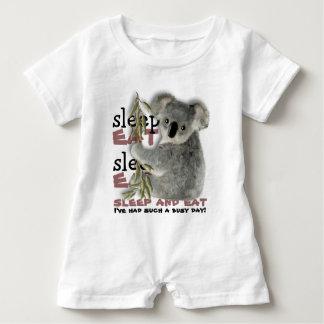 The Cutest Koala Eat And Sleep Baby Bodysuit