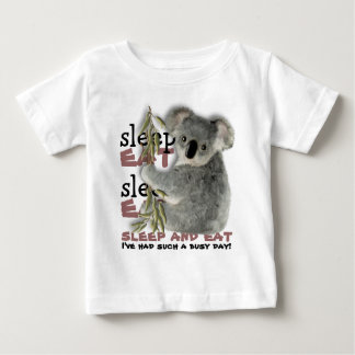 The Cutest Koala Eat And Sleep Baby T-Shirt