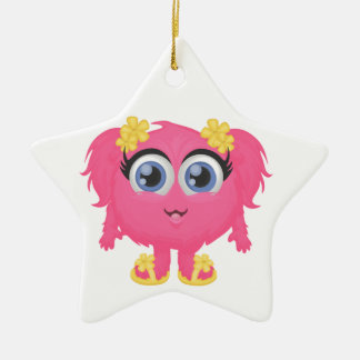 The cutest little monster! christmas ornament