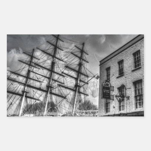 The Cutty Sark and Gipsy Moth Pub Greenwich Sticker