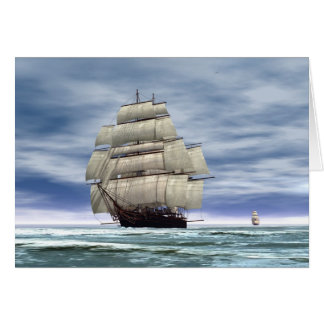 The Cutty Sark Greeting Cards