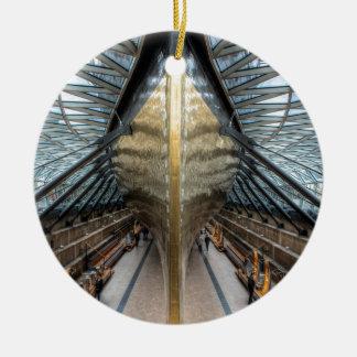 The Cutty Sark, Greenwich London Round Ceramic Decoration