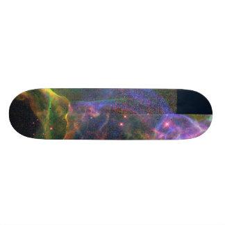 The Cygnus Loop Nebula- Shockwave from a Stellar E Skate Board Deck