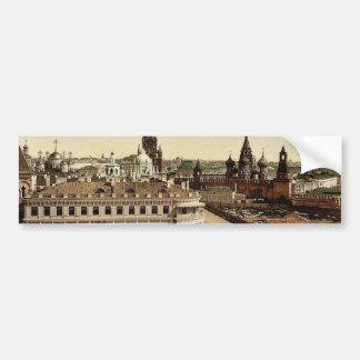 The Czar's place, Kremlin, Moscow, Russia classic Bumper Sticker