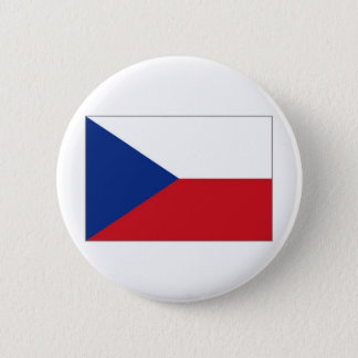 The Czech Republic National Flag 6 Cm Round Badge