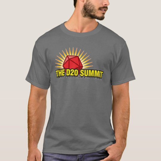 The D20 Summit Gaming Convention T-Shirt