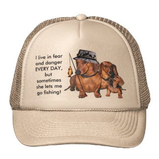 The Dachshund Fisherman Cap