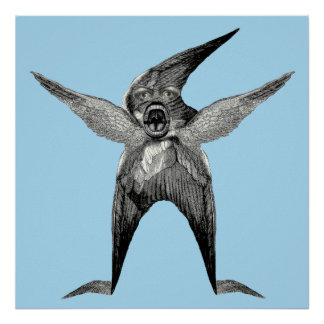 The Dada of Wingmen Man Cave Poster