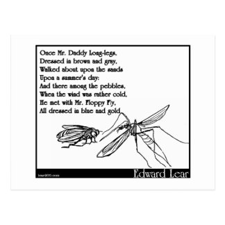 The Daddy Long Legs and the Fly Postcard