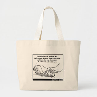 The Daddy Long Legs and the Fly Jumbo Tote Bag