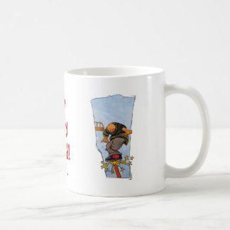 The daily grind! basic white mug