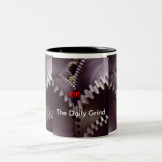 The Daily Grind Two-Tone Mug