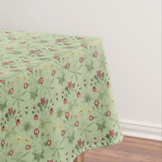The Daisy In Mint Green Tableware Tablecloth