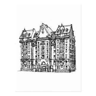 The Dakota Apartments_1 jpg Postcard