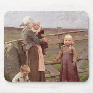 The Dalby Gate, Skane, 1884 Mouse Pad