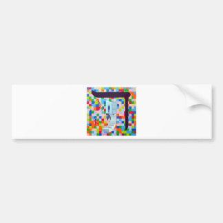 The Dalet Letter Bumper Sticker
