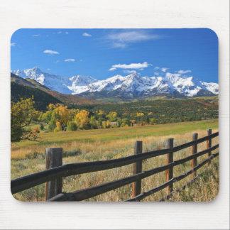The Dallas Divide near Ridgway, Colorado... Mouse Pad