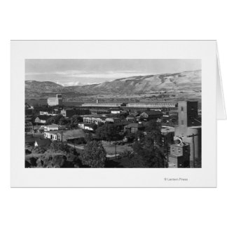 The Dalles, Oregon Dock View from 4th Street Card
