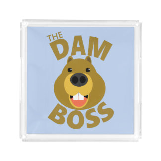 The Dam Boss Acrylic Tray
