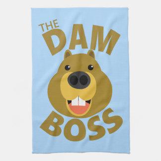 The Dam Boss Tea Towel