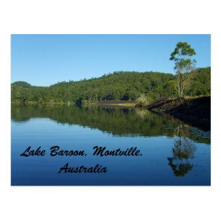 The Dam on Lake Baroon,  Montville, Australia Postcard