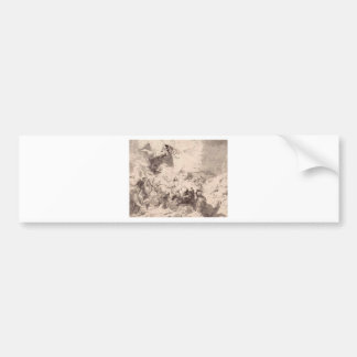 The Damage of Sennaherib by Peter Paul Rubens Bumper Sticker