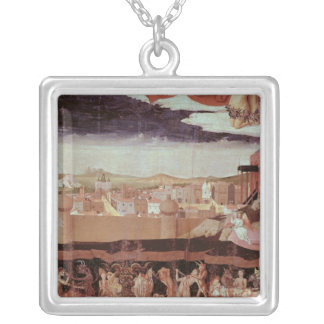 The Damned in Hell Silver Plated Necklace